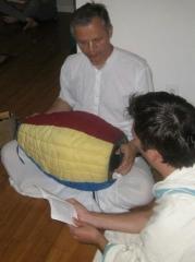 08-Vidya Sundar Prabhu from Canada always leads a beautiful kirtan