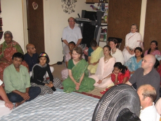 05-Guests at Sridhar Prabhu's home program