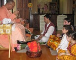 Jairam Prabhu and family take initiation