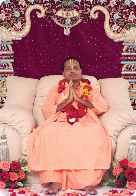 Om Vishnupad Srila Bhakti Nirmal Acharya Maharaj