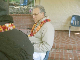16-Srila Govinda Maharaj Disappearance Program in Soquel April 2012