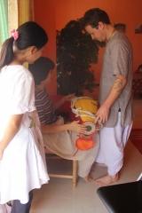 09-Srila Janardan Maharaj in Shenzhen, China