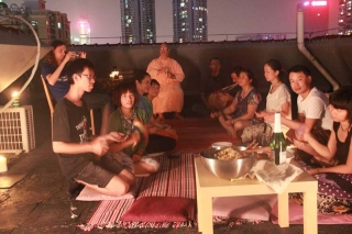 12-Srila Janardan Maharaj in Shenzhen, China