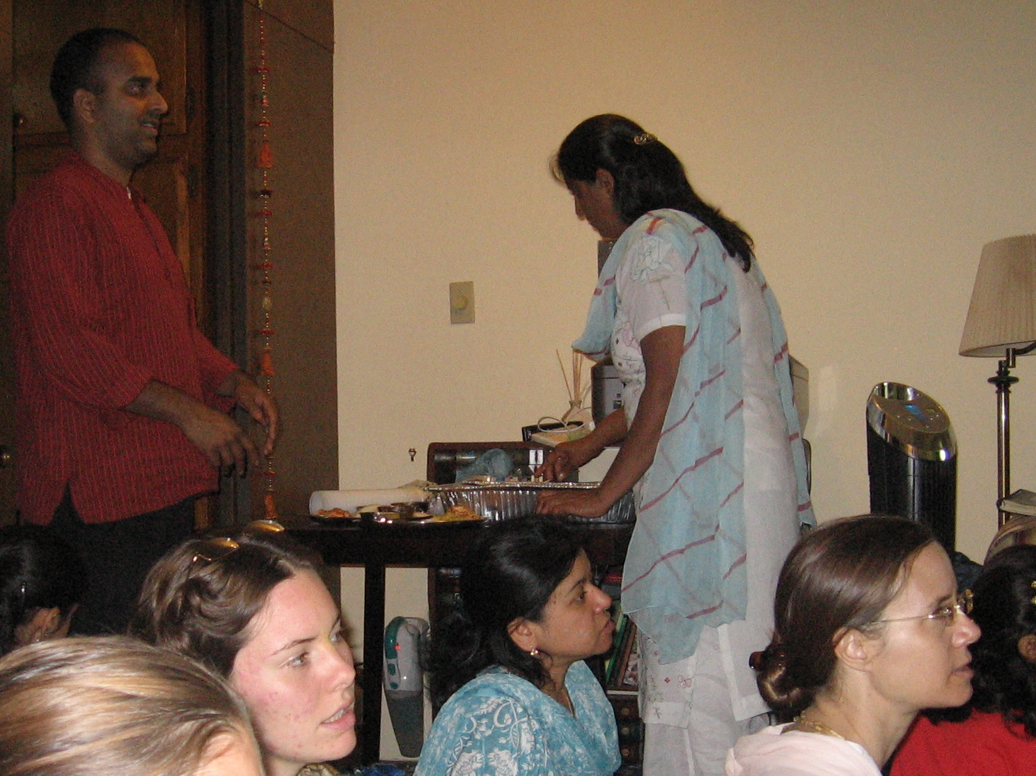 13-Guests at Sridhar Prabhu\'s home program