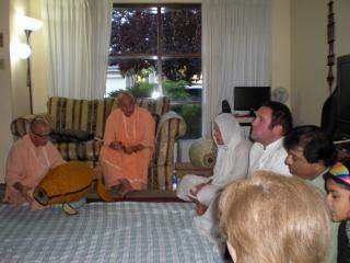 26-Baishnab Maharaj, Janardan Maharaj, Ratan Krishna Prabhu, Vidura Krishna Prabhu and other guests