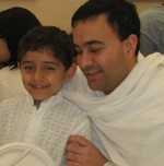 Jairam Prabhu and his Son Nabh