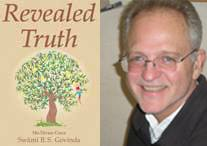 Images of the Cover of Revealed Truth and Sarvabhavana Prabhu